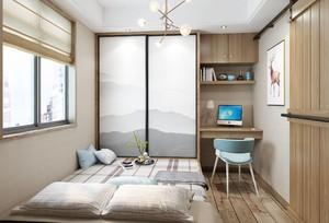 120平方別墅中式榻榻米窗簾裝修效果圖