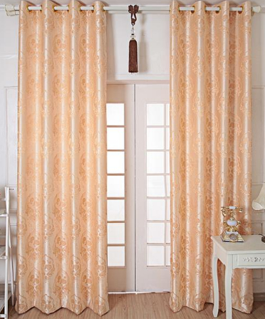 90平的房子歐式客廳陽臺窗簾裝修效果圖