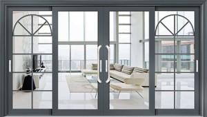 160平米別墅后現代陽臺推拉玻璃門裝修效果圖
