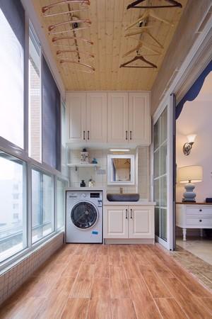 90平米歐式客廳陽臺地板磚裝修效果圖