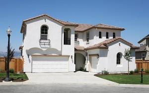 360平欧式风格斜顶房屋设计效果图