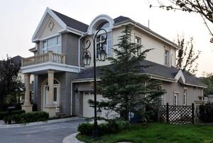 500平簡歐風格老式房屋外觀效果圖