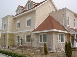 550平美式風格老式房屋外觀效果圖