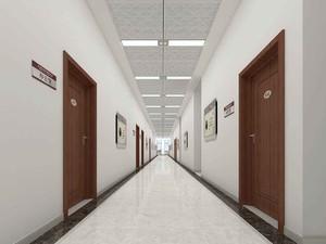 1000平現代簡約風格房屋走廊裝修效果圖