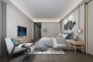 125平大戶型北歐風格房屋壁紙裝修效果圖