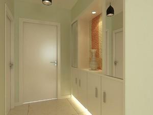 120平三居室清新簡約風格房屋過道裝修效果圖