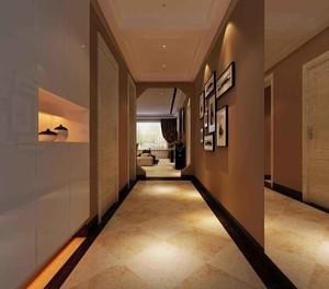 135平大戶型現代復古風格房屋過道裝修效果圖