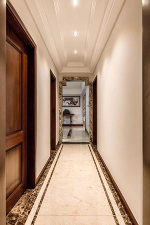 140平大戶型新中式風格房屋過道裝修效果圖