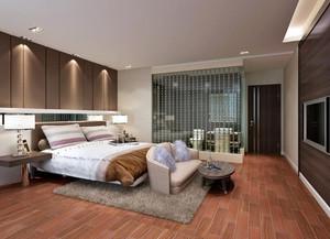 88方小三房別墅新中式主臥洗手間裝修效果圖