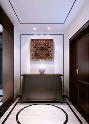 200平方新中式别墅客厅玄关装修效果图
