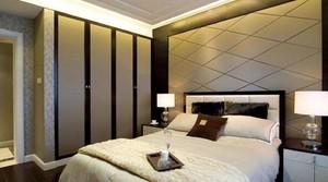 160平米別墅新中式臥室櫥柜裝修效果圖