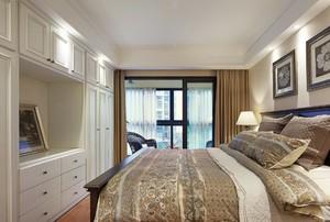 200平方別墅新中式臥室櫥柜裝修效果圖
