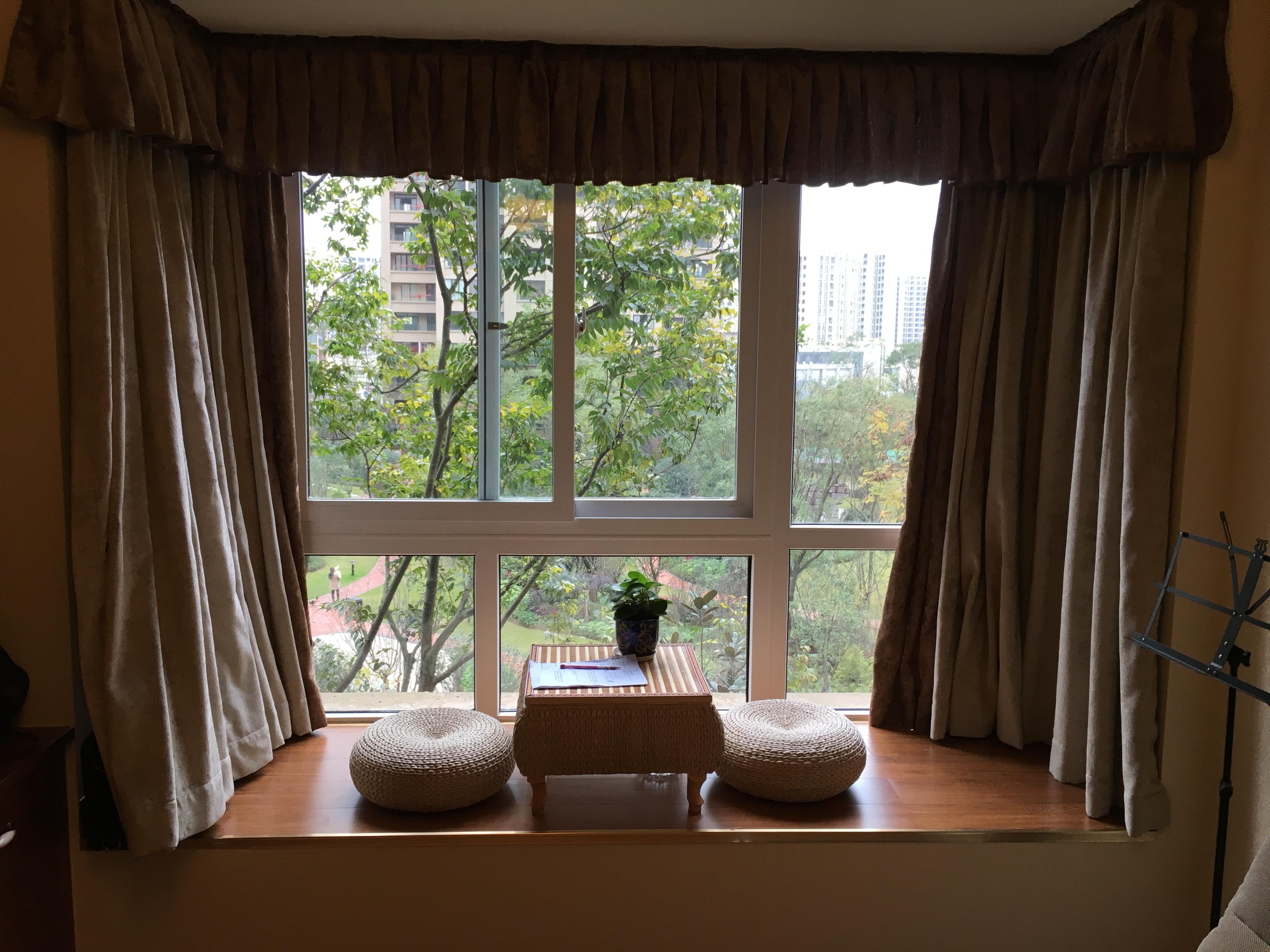230平米農村別墅新中式飄窗裝修效果圖