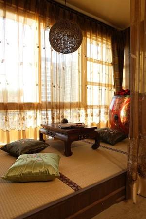 160平米農村別墅新中式飄窗裝修效果圖