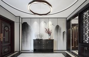 现代简约与新中式混搭别墅图片