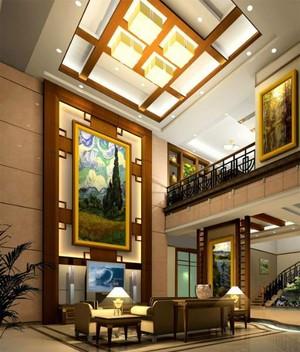 290平米現代新中式中空別墅裝修效果圖