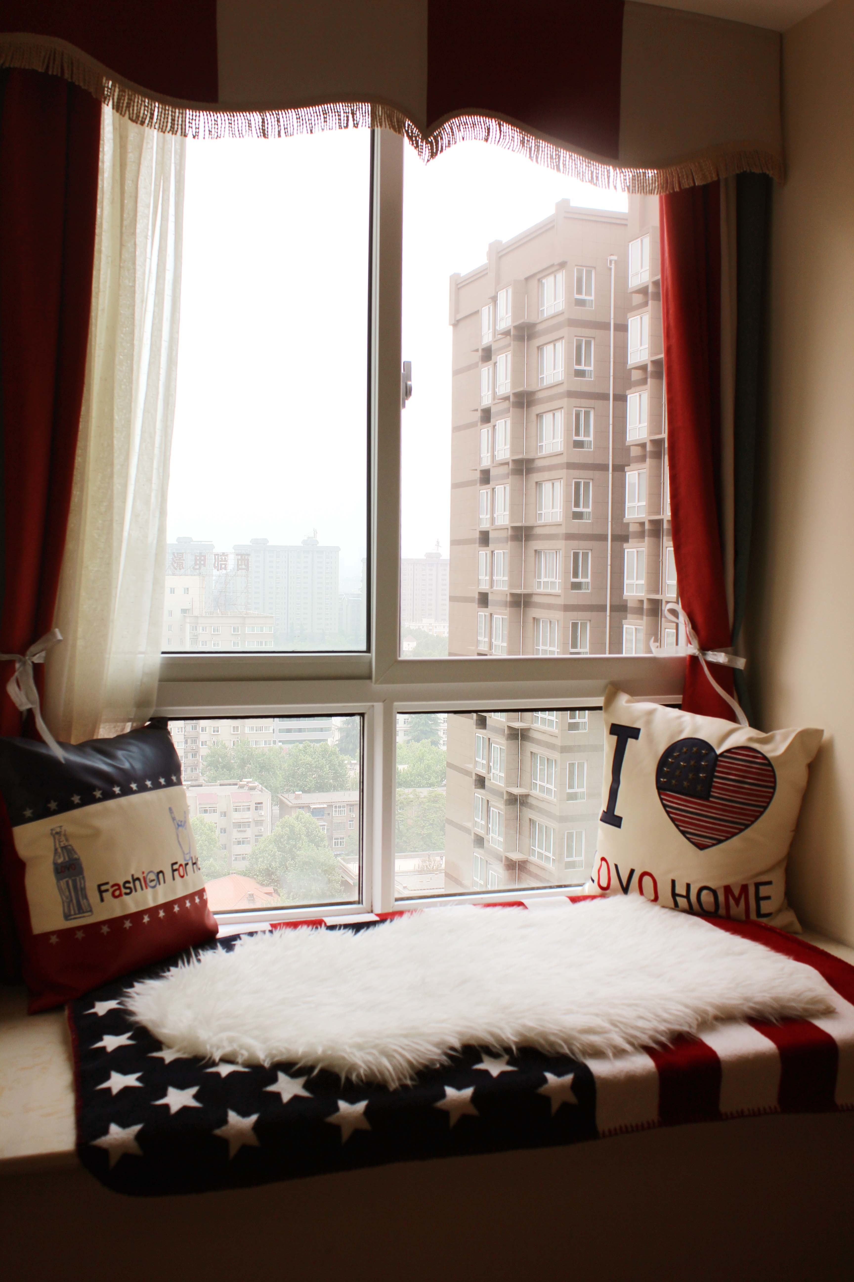 120平米房子日式飄窗榻榻米裝修效果圖