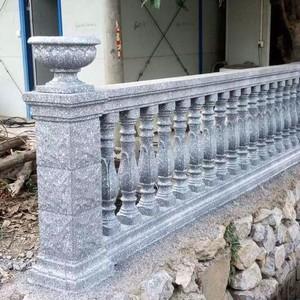 現代歐式風格羅馬柱圍墻欄桿裝修效果圖