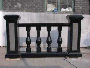 北歐現代風格羅馬柱圍墻欄桿裝修效果圖