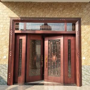 100平米別墅歐式羅馬柱門套裝修效果圖