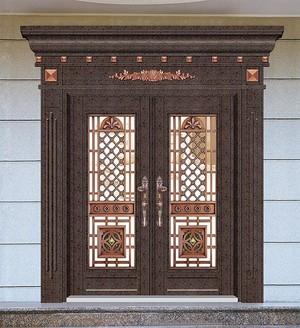 110平米別墅歐式羅馬柱門套裝修效果圖