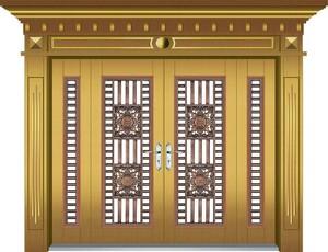 150平米別墅歐式羅馬柱門套裝修效果圖