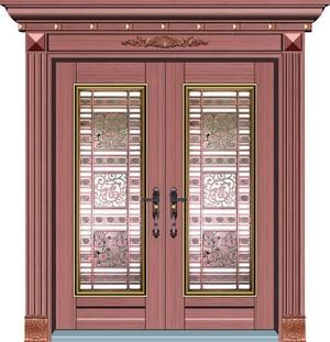 160平米別墅歐式羅馬柱門套裝修效果圖