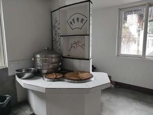 100平土菜馆厨房装修图片