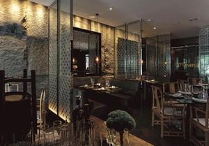 100平創意西餐廳裝修效果圖