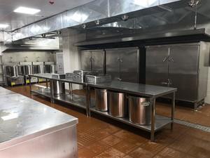 100平米小型西餐厨房设计图