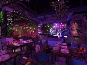 100平歐式小型酒吧裝修圖片