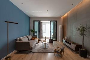 100平小三房改兩室混搭風設計效果圖