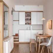 餐廳日式壁柜100平米裝修