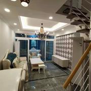 客廳現代局部躍層裝修