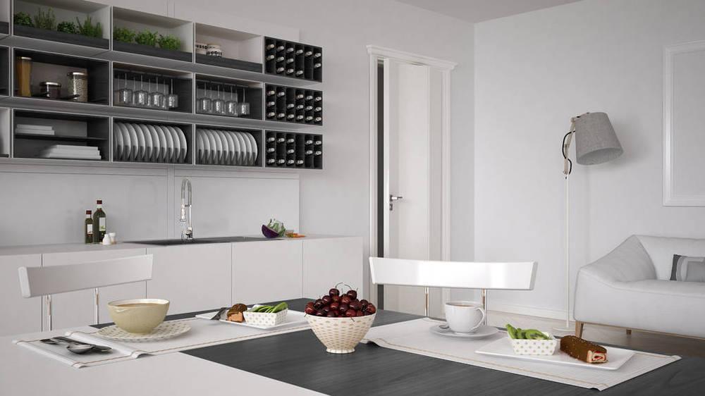 80平米簡約廚房裝修效果圖