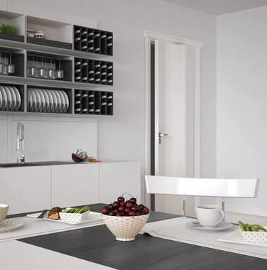80平米简约厨房装修效果图