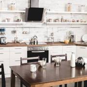 廚房田園櫥柜三居室裝修