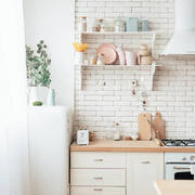 廚房鄉村墻面兩居室裝修