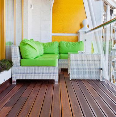 90平米现代风格阳台设计效果图