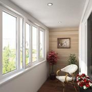 陽臺簡約門窗兩居室裝修