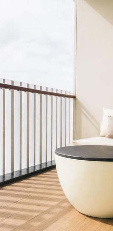 公寓宜家阳台装修效果图