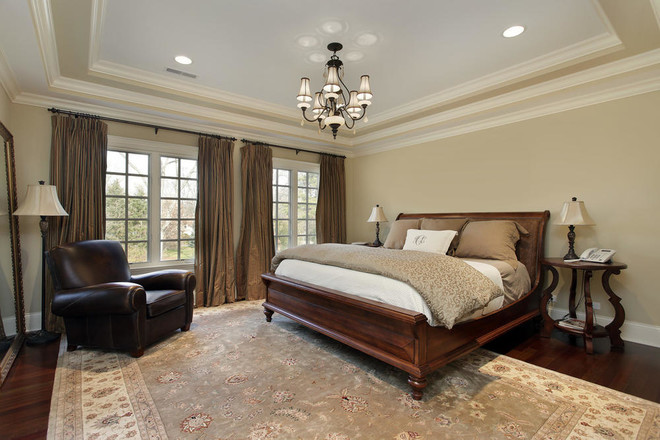 130平米卧室美式风格装修效果图