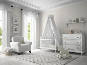 白色現代簡約兒童房裝修設計效果圖