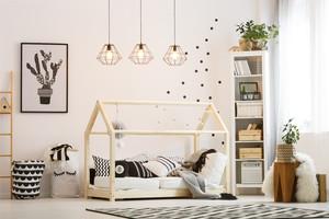 創意兒童房簡約裝修效果圖圖片
