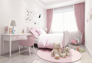 簡單公主房間裝修圖片粉色