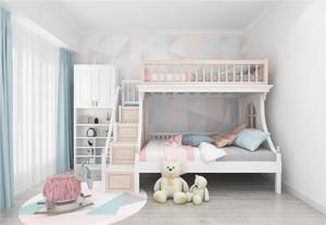 兒童房雙床裝修效果圖