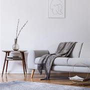 客厅简约沙发70平米装修