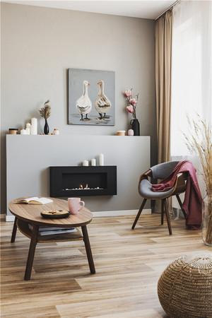 美式轻奢客厅装修效果图