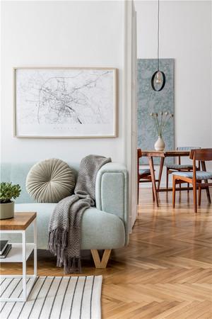 两居室客厅简约装修效果图