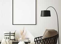 客廳簡單大方裝修效果圖片
